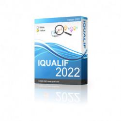 IQUALIF アメリカ イエロー、プロフェッショナル、ビジネス