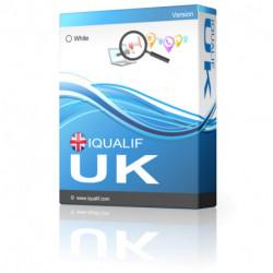 O Melhor Extrator de Contactos Profissionais/Negócios do Reino Unido