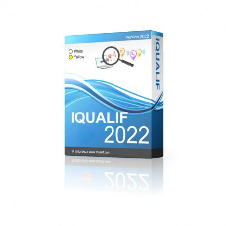 IQUALIF イタリア イエロー、プロフェッショナル、ビジネス